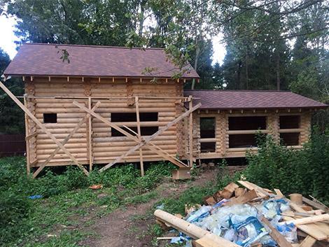Идивидуальный проект дом баня