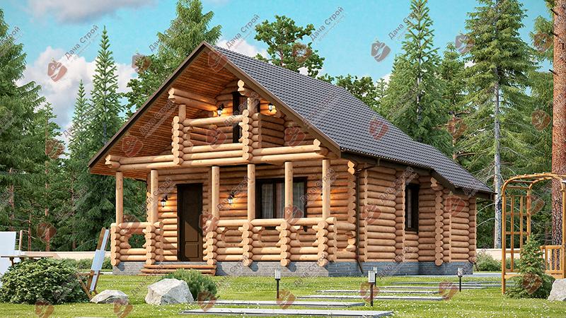 Дома из бревна «Мечта — 111»