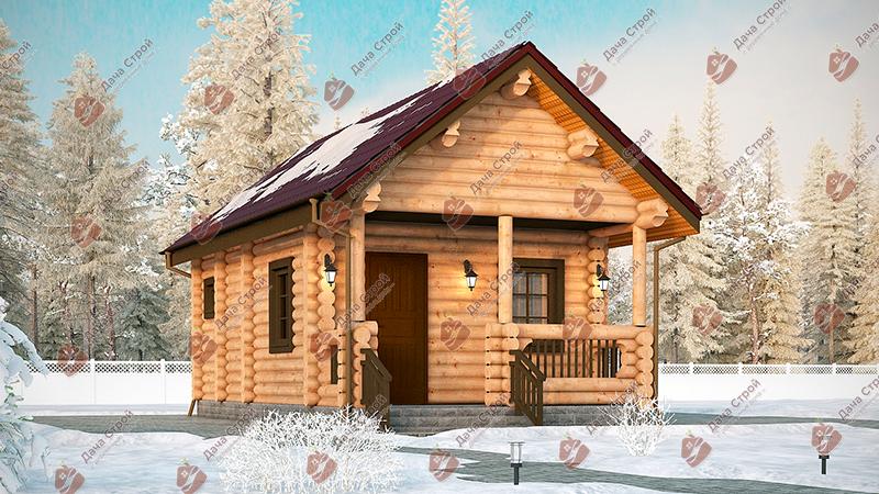 Баня «Русский пар — 35»