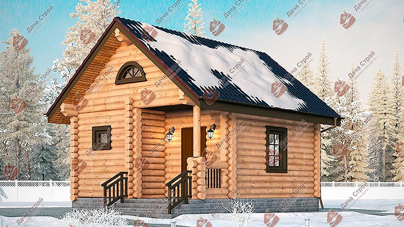 Баня «Русский пар — 25»