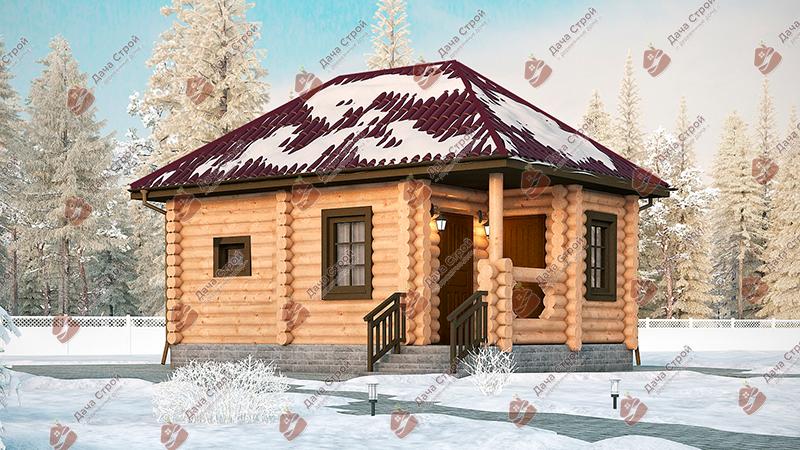 Баня «Русский пар — 30»