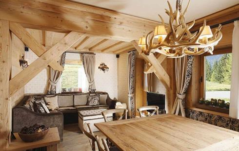 Дома, бани, из оцилиндрованного бревна 7-2 Отделка деревянного дома