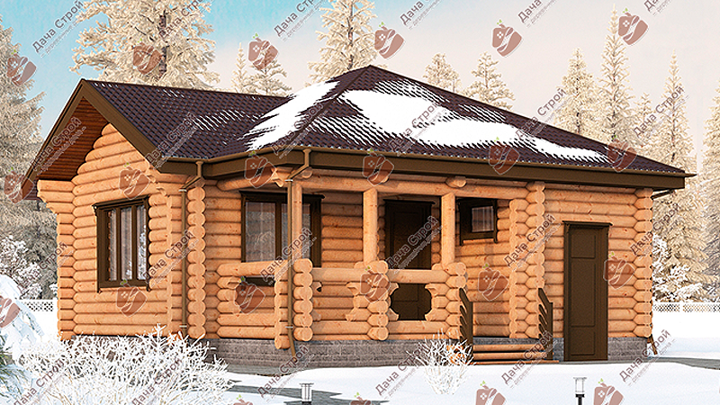 Баня «Русский пар – 64»