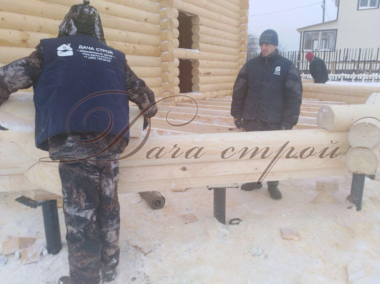 фото отчёт начало строительства индивидуального дома
