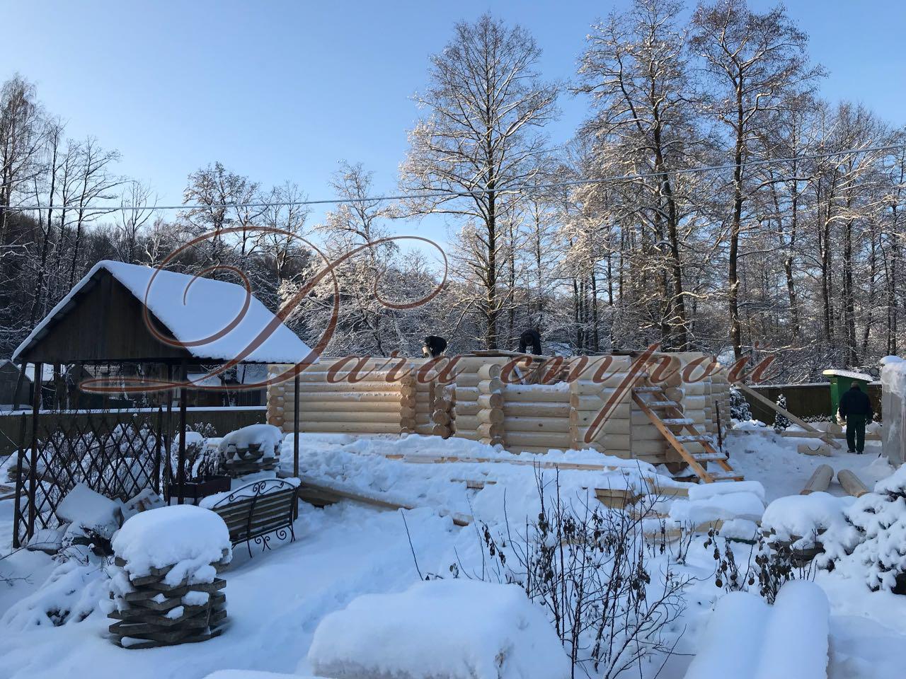 фото отчёт Начало строительства дома элитный 188
