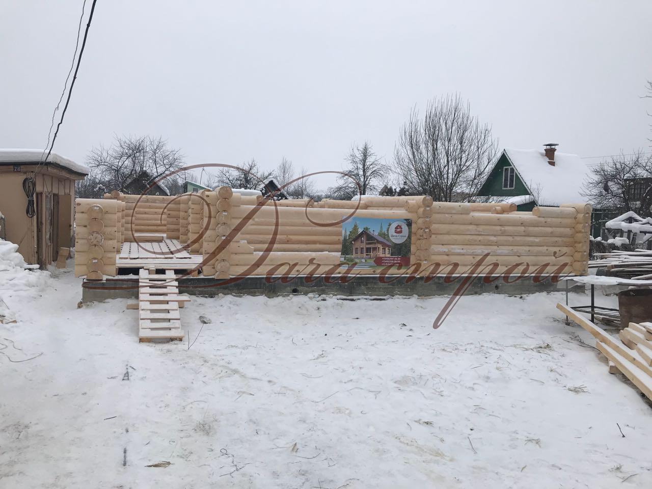 Фото отчёт начало строительства дома элитный 183
