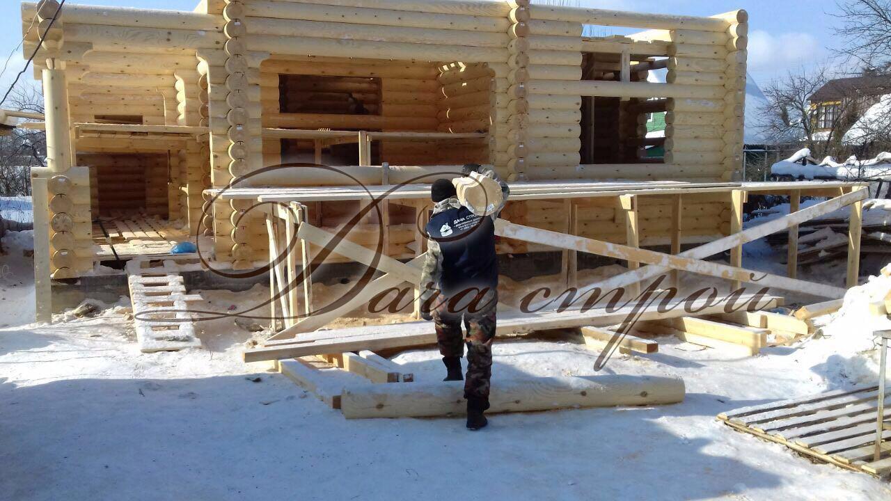 Фото отчёт начало строительства элитный 183